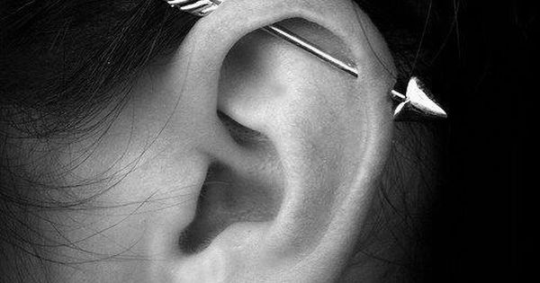 Industrial piercing; arrow