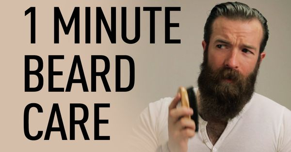 1 minute beard grooming jeff buoncristiano beardbrand channel pinterest pelo y barbas y. Black Bedroom Furniture Sets. Home Design Ideas