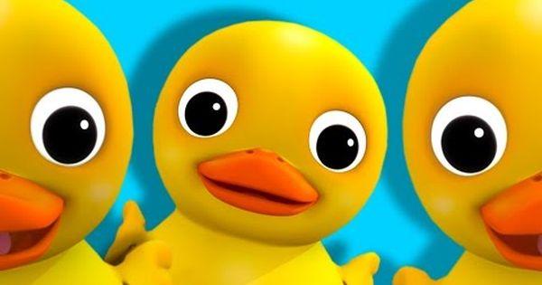 Six Little Ducks From Five Little Ducks Nursery Rhymes By Littlebabybum Duck Nursery Nursery Rhymes Rhymes Video