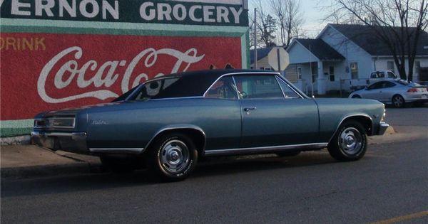 1966 Chevrolet Chevelle Malibu 2 Door Hardtop 81967 Chevrolet Chevelle Malibu Chevrolet Chevelle Chevelle