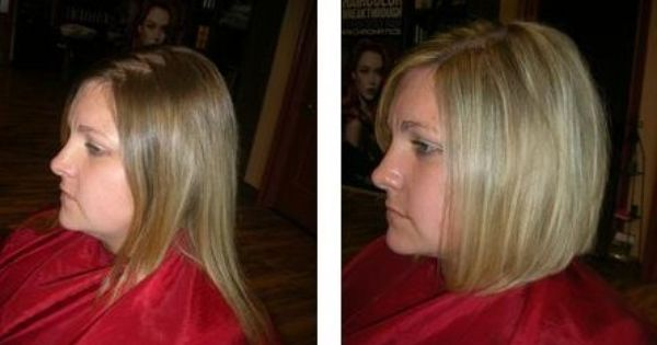 Before And After Lob Haircut Before And After Pictures
