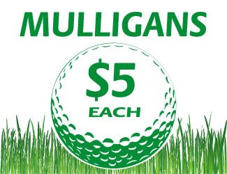Mulligan Card Golf Tournament Golf Cards Trial Court