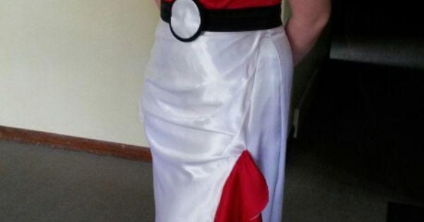 Custom Made Pokemon Prom Dress | Pokemon Prom Dress | Pinterest ...