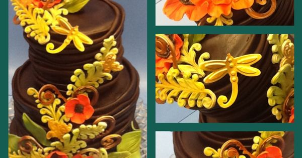 Cake Done With Wilton Molds By Reva Alexander Hawk