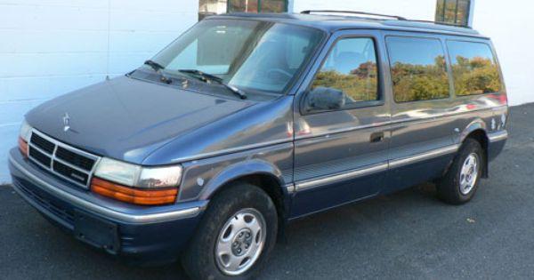 92 Grand Caravan Aww My First Van Although Mine Was A 94 It Moved Me To Arizona With 1 Trip Grand Caravan Mini Van Van