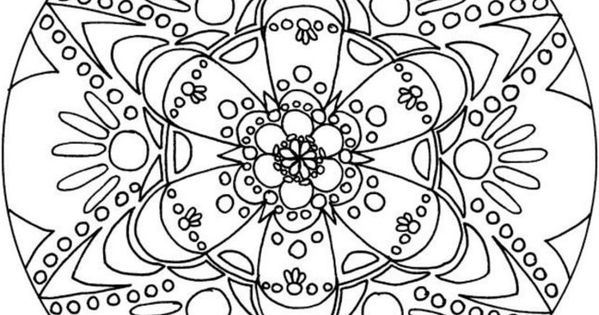cool coloring pages for teenagers doodles to color pinterest mandalas adult coloring and. Black Bedroom Furniture Sets. Home Design Ideas