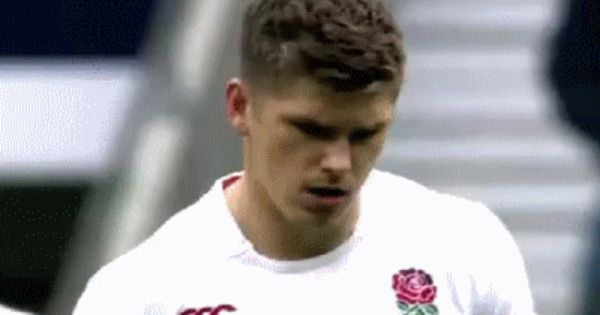 Tumblr Mwij0klcnx1r3w9oro1 400 Gif 400 262 Pixels Owenfarrell Englandrugby Owen Farrell Rugby England England Rugby Team Rugby Men Rugby Players