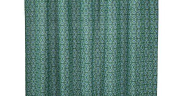 Boho Boutique™ Aria Shower Curtain - Wasabi Green (72x72