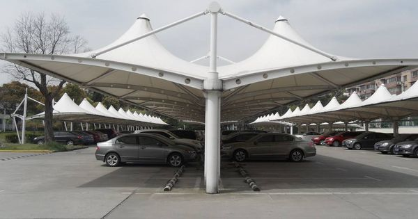 Tensile Car Parking Shade Canopy Park Shade Shade Structure Car Parking