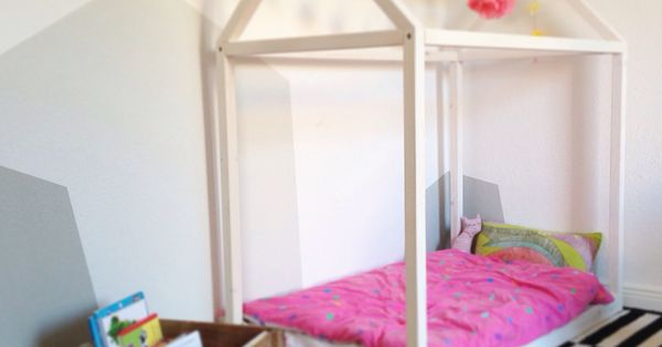 diy kinderzimmer haus kinderbett holz kinderzimmer. Black Bedroom Furniture Sets. Home Design Ideas