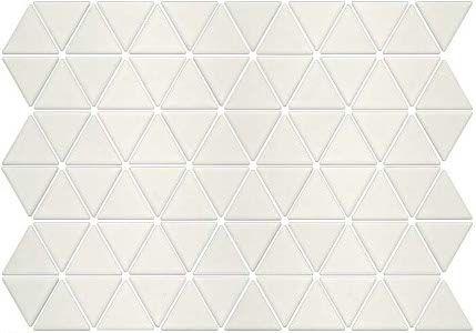 Seek Retro Treble Glazed Porcelain Triangle Mosaic Tiles