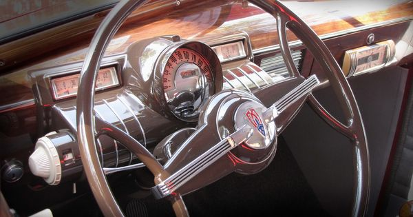 1938 Oldsmobile Opera Coupe Dash Cars Pinterest