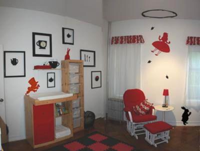 Alice In Wonderland Nursery Theme Girls Bedroom Themes Alice In