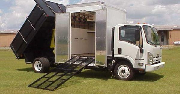 Www Superlawntrucks Com Superboxtruckramps Com Isuzu Truck With A