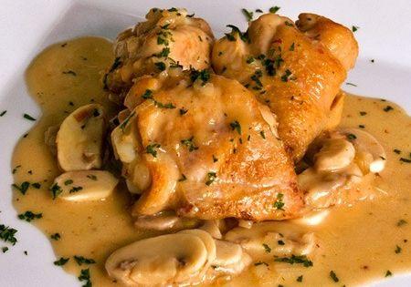 Recetas de cocina pollo al champi n y cerveza recetas - Platos de pollo faciles ...