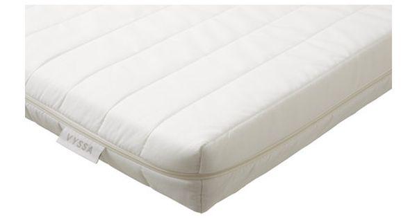 Ikea vyssa snosa matras voor juniorbed comfort naar for Lit junior ikea