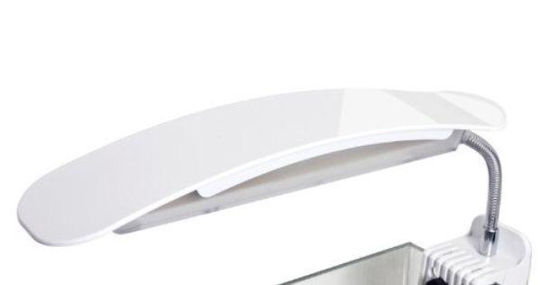 Led Light Clip On For Nano Mini Tank Dolphin Curve Adjustable Arm Angle 6500k White Led Led Aquarium Lighting Light Clips Aquarium Lighting