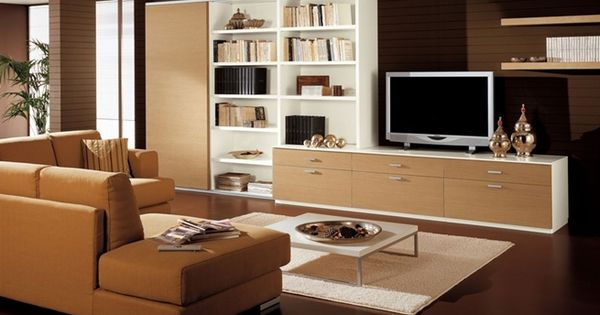 decoracin moderna con muebles de color madera decoracion pinterest