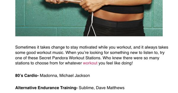 Pandora stations pandora and workout stations on pinterest
