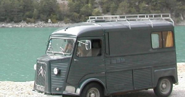 Citroen Hy Am Nag En Camping Car Rv Motorhome The History Of Motorhomes Pinterest