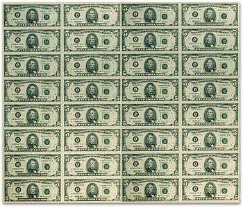 graphic regarding Money Printable referred to as printable income sheet uncut 5 5 greenback forex sheet