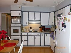 Cabinet Doors Different Color Than Cabinets Google Search Cheap Kitchen Remodel Inexpensive Kitchen Remodel Condo Kitchen Remodel