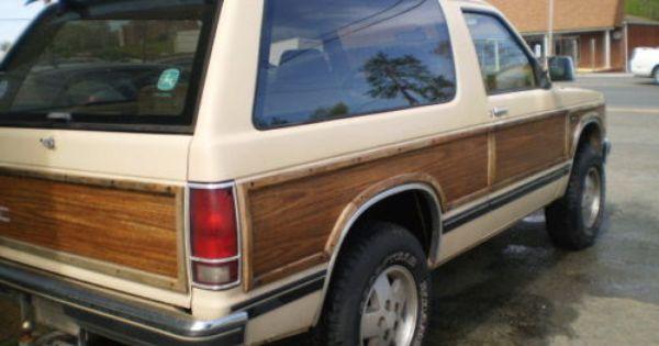 Gmc Jimmy Woody Gmc Woody Gmc Trucks