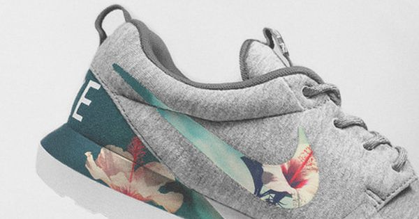 Nike floral sneakers - Spring style these are different