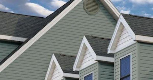 Seagrass Siding Color House Exterior House Siding Vinyl Siding House