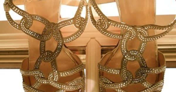 Wedding sandals - photo