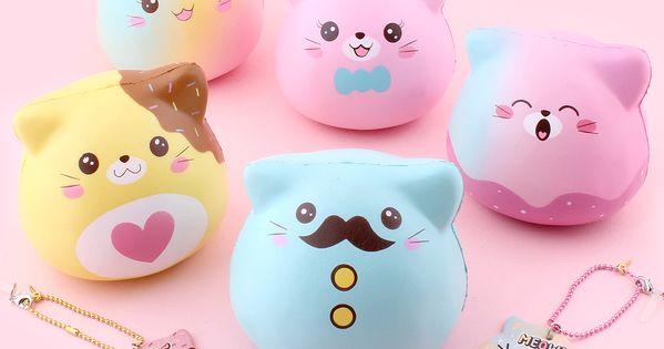 Jumbo Marshmallow Adopt Me Kittens Squishies By Puni Maru In 2020