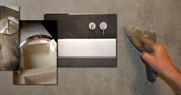 Stucgoed introduceert mortex color van beal stucgoed beal mortex color pinterest - Ouderlijke doucheruimte kleedkamer volgende ...