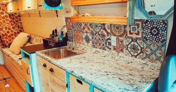 103 Tiny House Bus Living Conversion Ideas Camper Kitchen Bus Living Life Kitchen