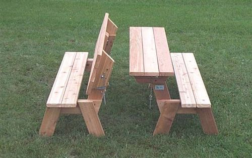 Easy Picnic Table Bench Plans Picnic Table Plans Table