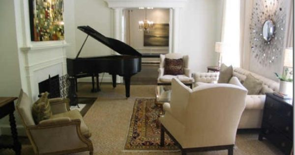 Piano Placement In Living Room New House Ideas