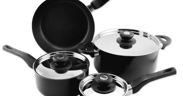 Empire Collection Everware Nonstick Cookware 7 Piece Set Want