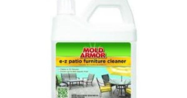 how to clean mildew off furniture