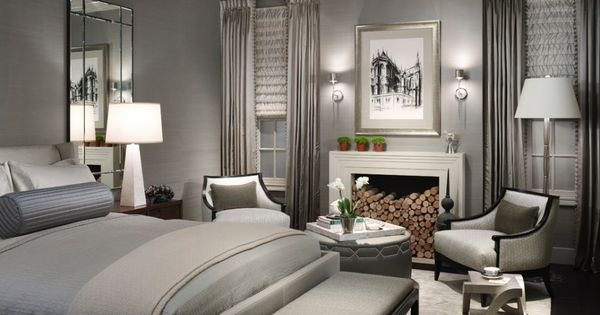Blue and Silver Bedroom Ideas | Glossy Design Master Bedroom Color Schemes