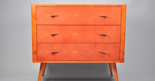 ginger brown furniture commode galuchat sputnik design mid century chest sputnik ginger. Black Bedroom Furniture Sets. Home Design Ideas