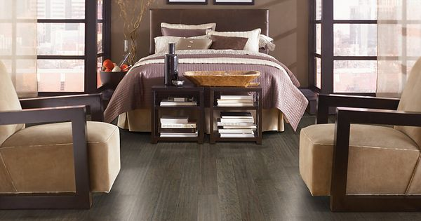 Brandymill Uniclic Hickory Charcoal In Mohawk Flooring