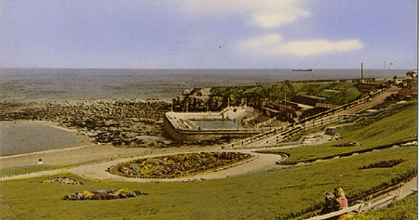 Postcard Of The Bathing Pool Tynemouth 1963 Lidos Pools Pinterest North East England
