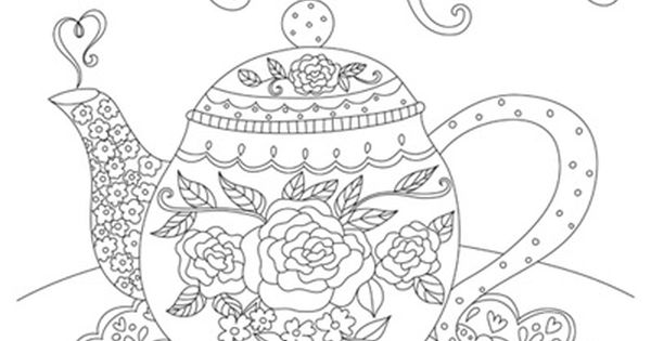 tea rose coloring pages - photo#19