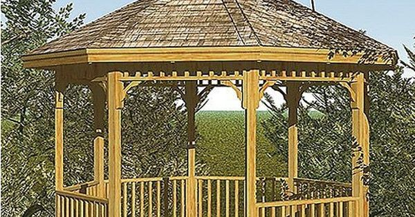 Hart Design Gazebo Woodworking Project Plan By Hart Design