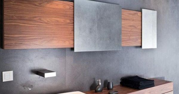 Moderne badezimmer bilder idee fliesen betonoptik - Bilder moderne badezimmer ...