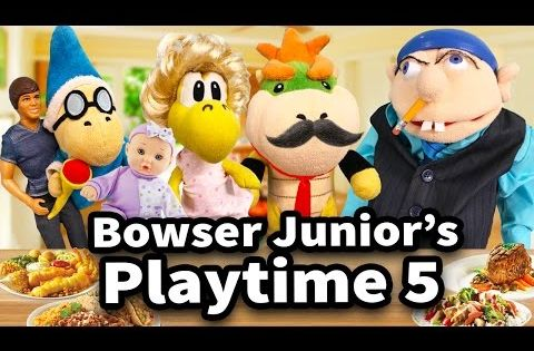 Sml Movie Bowser Junior S Playtime 5 Youtube Sanic Memes Bowser Play Time