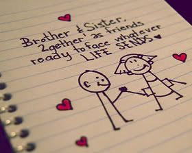 A Sister S Love Sister Quotes Brother N Sister Quotes Little Brother Quotes