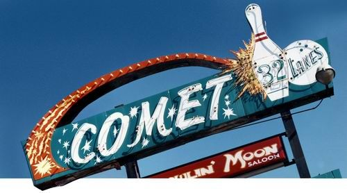 Bowling Alleys Featured Some Of The Most Classic Googie Neon Signs