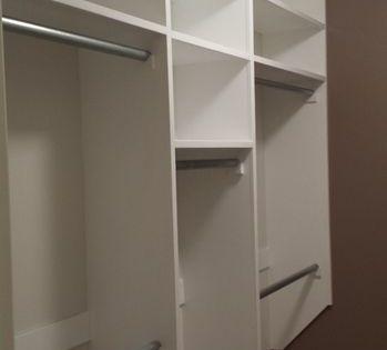 Walk In Closet Make Over On Budget Bedroom Organization Closet Closet Small Bedroom Closet Remodel