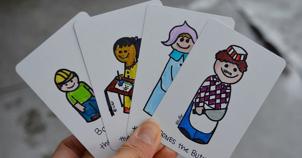 Happy Families Card Game Printable Cards Printables