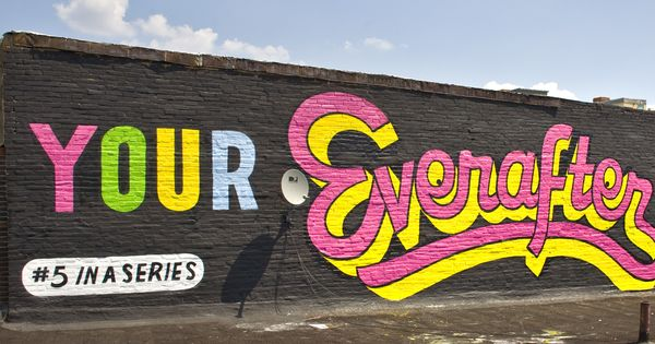 Quite Possibly The Largest Single Artist Mural Project In The United States Steve Powers Love Letter Comprises 50 Paint Steve Powers Lettering Love Letters